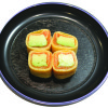 Smoked Salmon Egg Roll